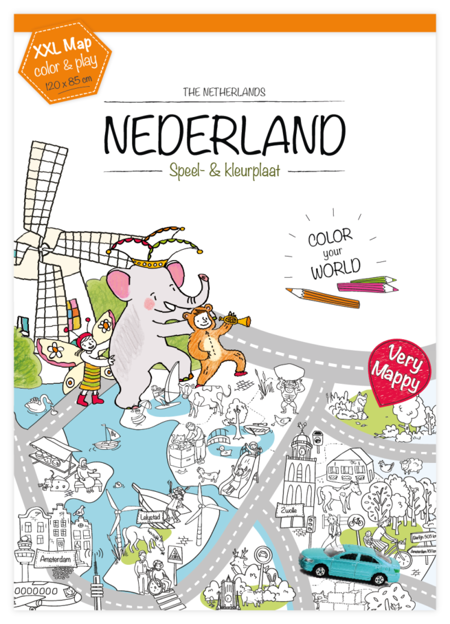 very mappy nederland