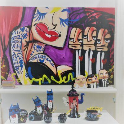Kunst aan de muur