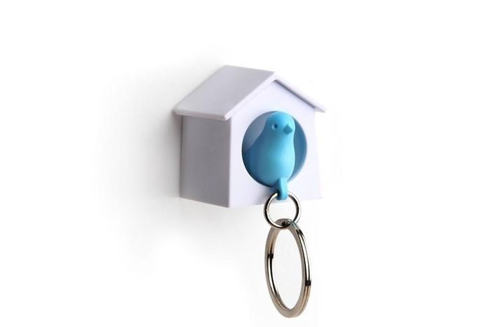 vogelhuisje blauw