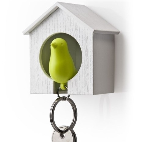 sleutelhanger vogelhuisje